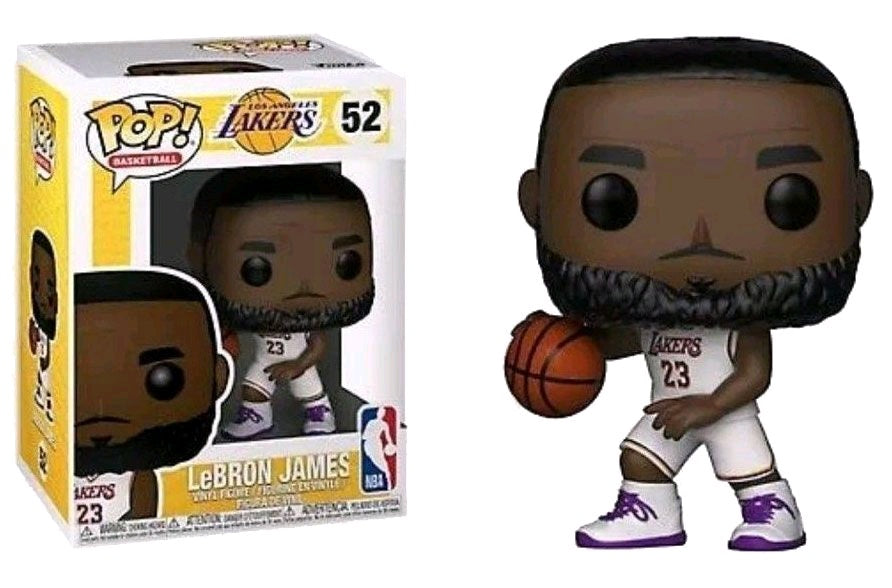 toy-lectables - N.B.A Lakers- Lebron James POP 52 - FUNKO Pop! vinyl - FUNKO