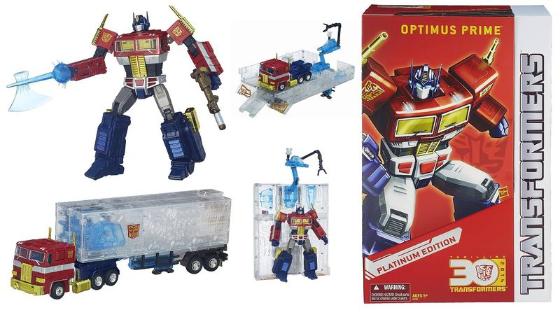 Year of the Horse Optimus Prime (2014) Platinum Edition