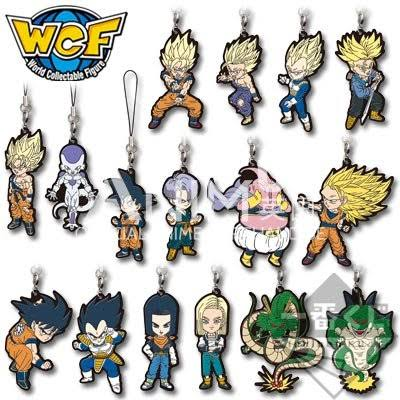 toy-lectables - Dragonball Z WCF Keychains (mystery) - Japanese - Bandai