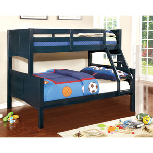 PRISMO II Blue Twin/Full Bunk Bed