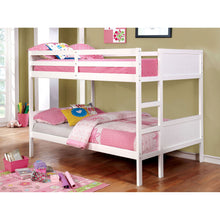 Load image into Gallery viewer, Annette Dark Walnut Full/Full Bunk Bed