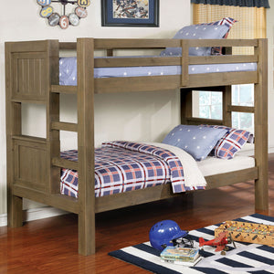 Kindred Gray Twin/Twin Bunk Bed