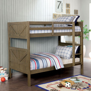 Kitchener Gray Twin/Twin Bunk Bed