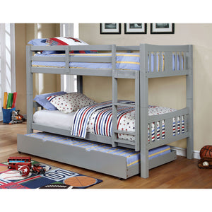 Cameron Gray Twin/Twin Bunk Bed