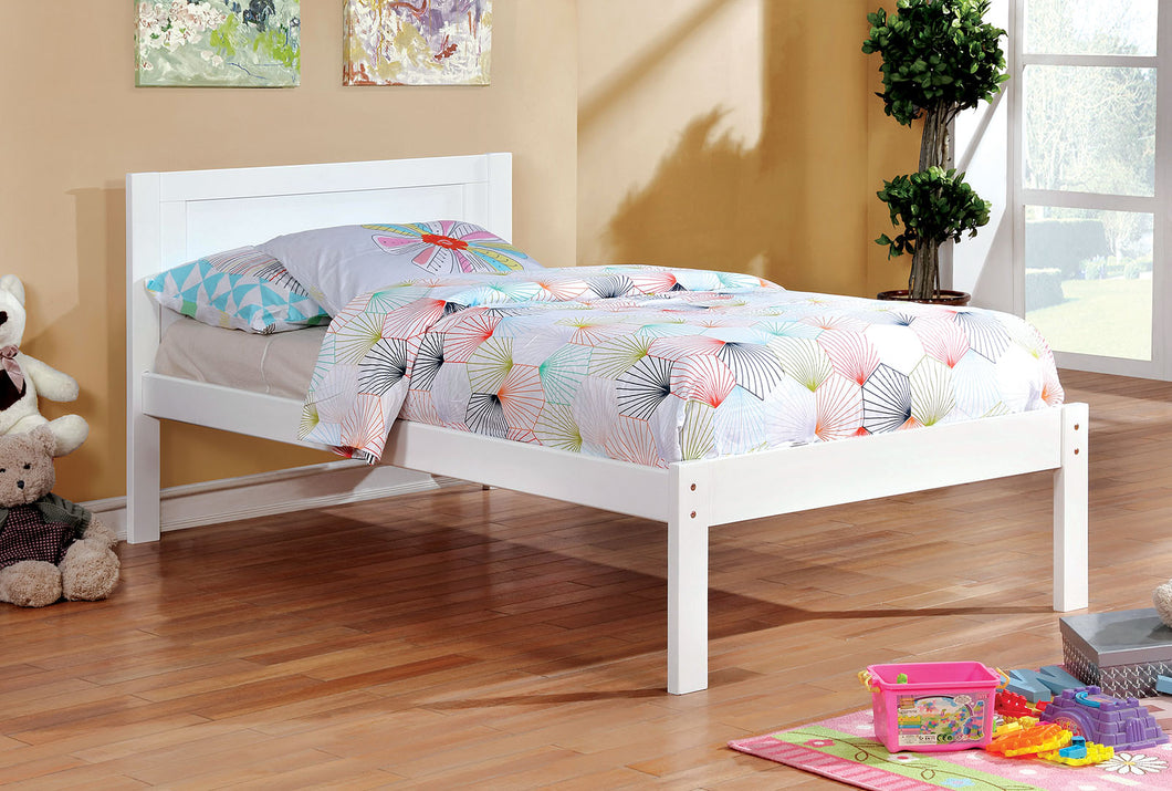 Annemarie White Twin Bed