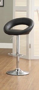 Numbi Black Bar Stool