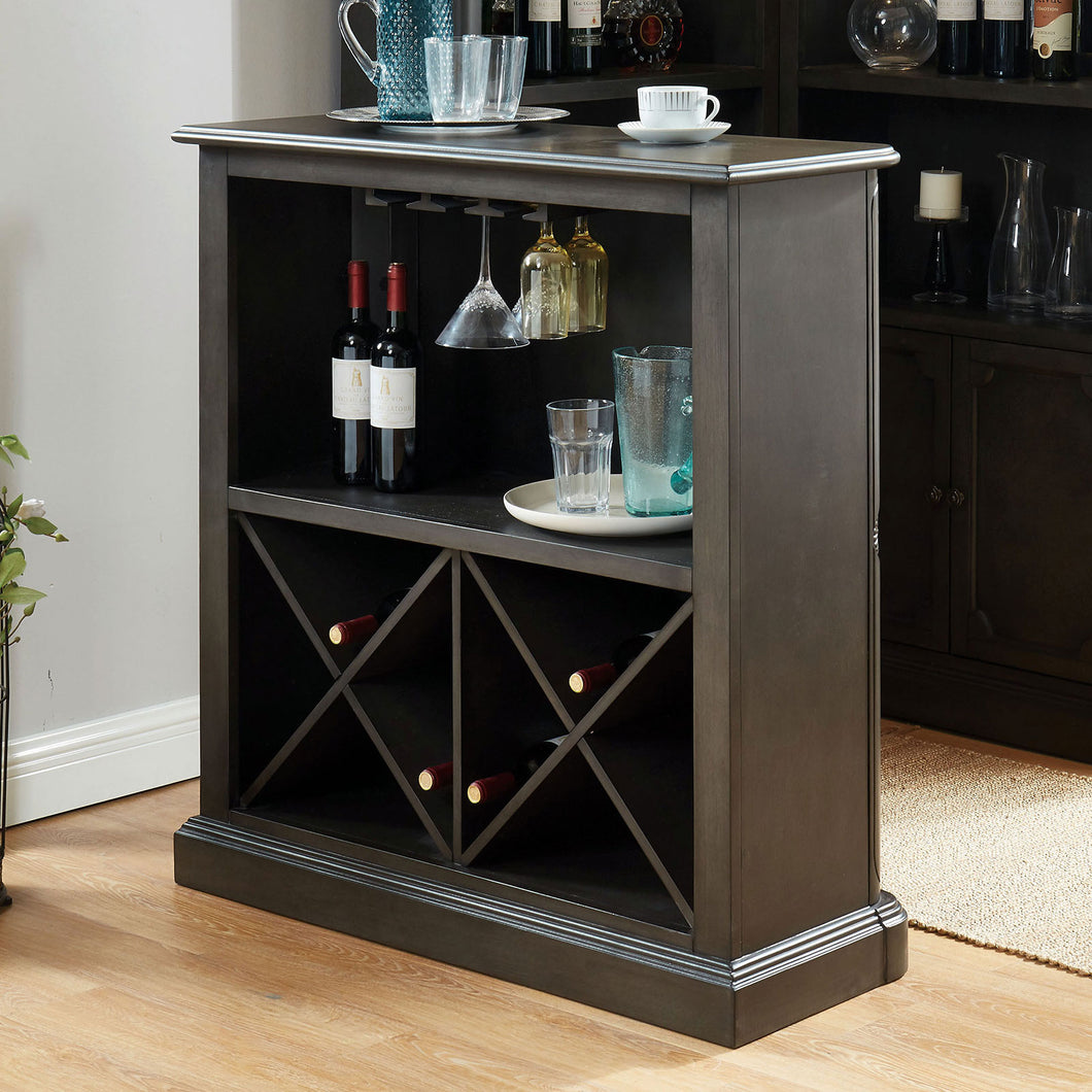 Voltaire Gray Bar Table