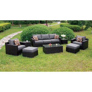 HELINA Gray 8 Pc. Patio Sofa Set