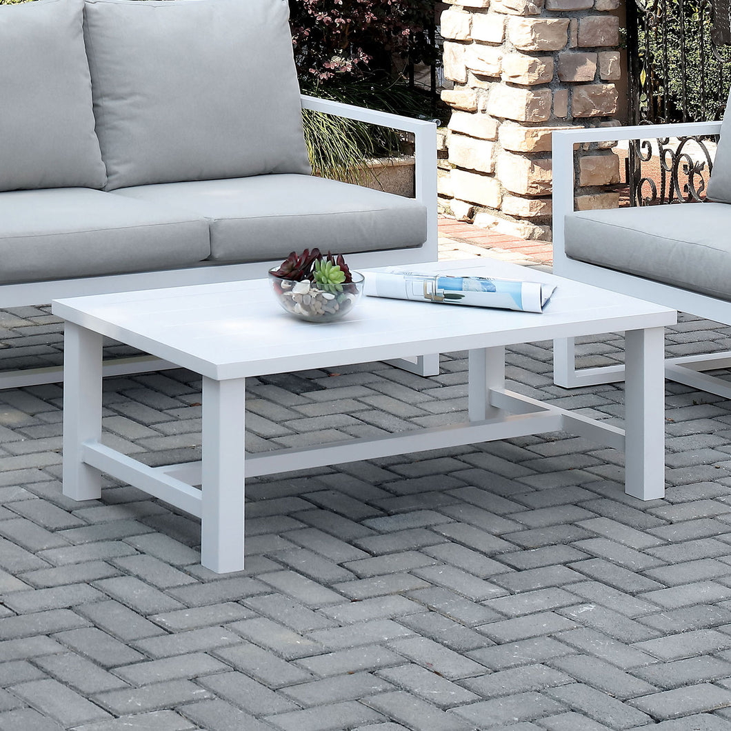 India White Coffee Table