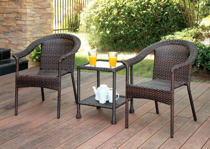 ARIMO Espresso 3 Pc. Patio Set