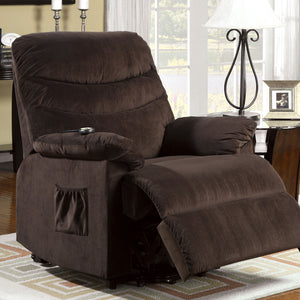Perth Cocoa Brown Power Recliner