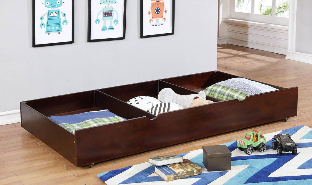 Grano Dark Walnut Trundle/Drawers