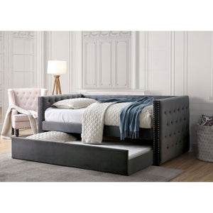 Susanna Gray Daybed w/ Trundle, Gray