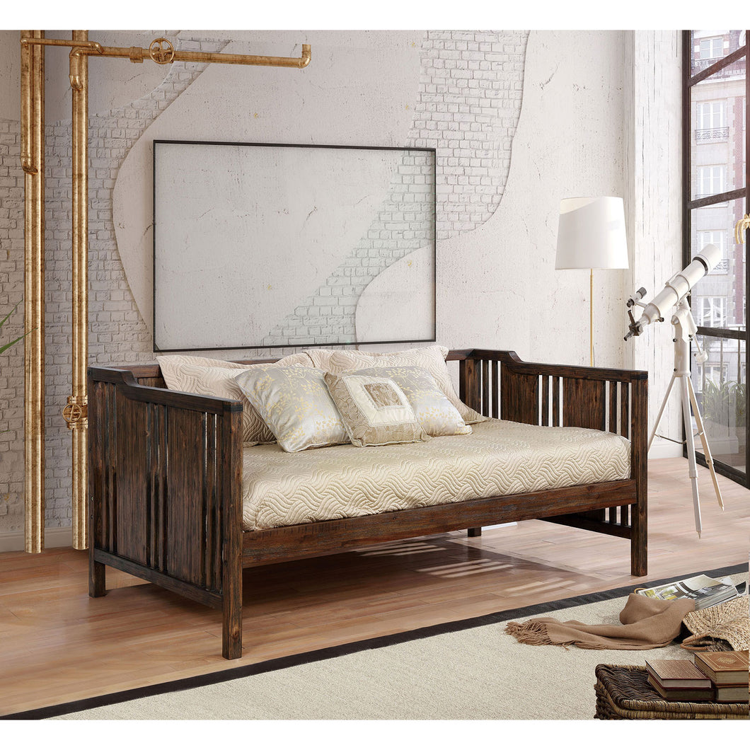 PETUNIA Dark Walnut Twin Size Daybed