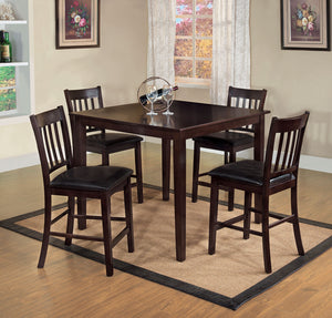 Northvale II Espresso 5 Pc. Counter Ht. Table Set