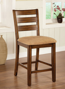 Priscilla II Antique Oak Counter Ht. Chair (2/CTN)