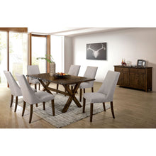 Load image into Gallery viewer, Woodworth Walnut 7 Pc. Dining Table Set