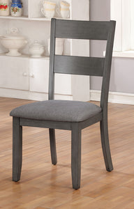 Juniper Gray Side Chair (2/CTN)