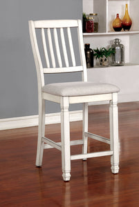 Kaliyah Antique White Counter Ht. Chair (2/CTN)
