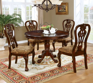 Elana  5 Pc. Round Dining Table Set