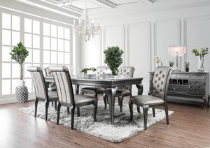 Amina Gray Dining Table