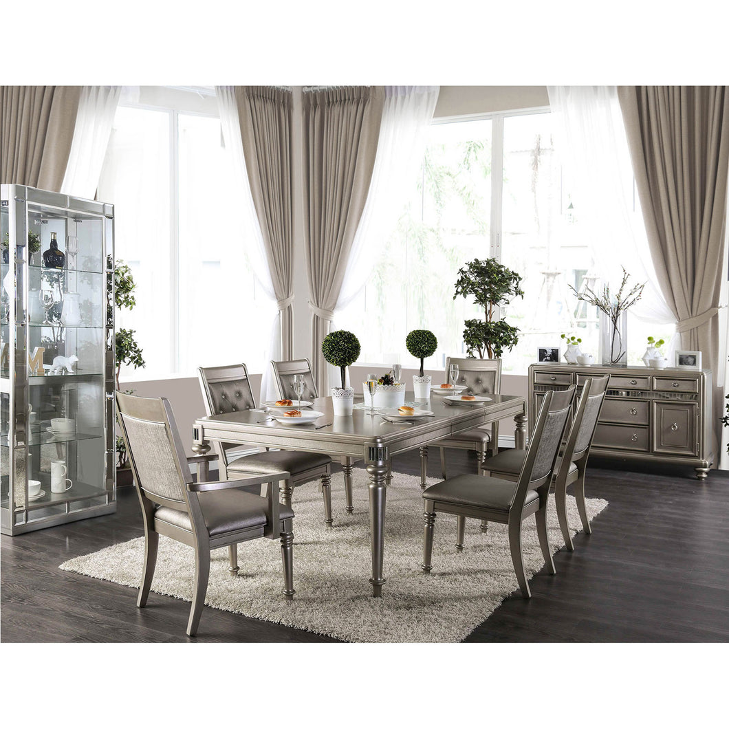 Xandra Champagne Dining Table