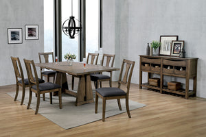 Benllech Brown Cherry Dining Table