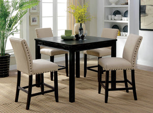 Kristie Antique Black 5 Pc. Counter Ht. Table Set