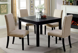 Kristie Antique Black 5 Pc. Dining Table Set