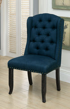Load image into Gallery viewer, SANIA Antique Black Wingback Chair (2/CTN)