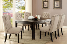 Load image into Gallery viewer, Sania III Antique Black, Ivory 7 Pc. Dining Table Set