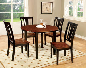 DOVER II  5 Pc. Round Dining Table Set