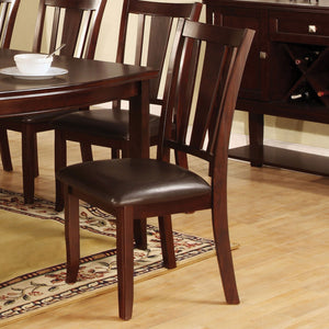 Edgewood I Espresso Side Chair (2/CTN)