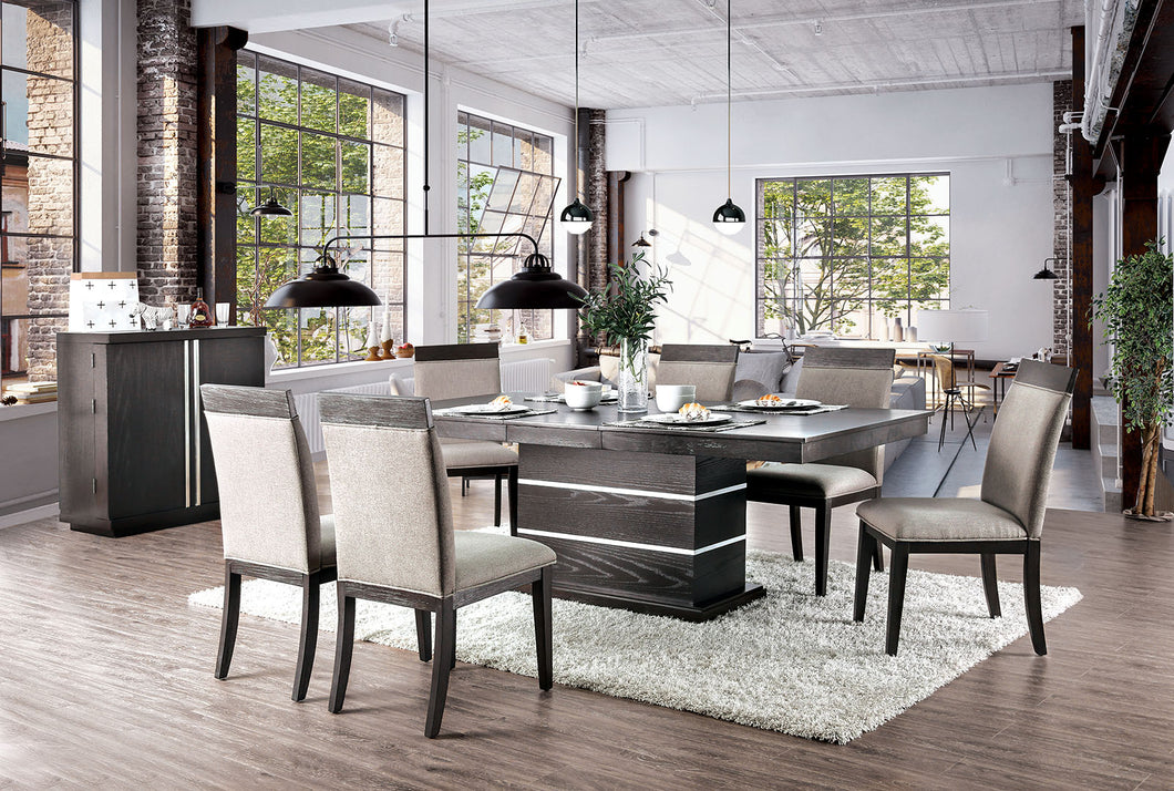 Modoc Espresso 7 Pc. Dining Table Set
