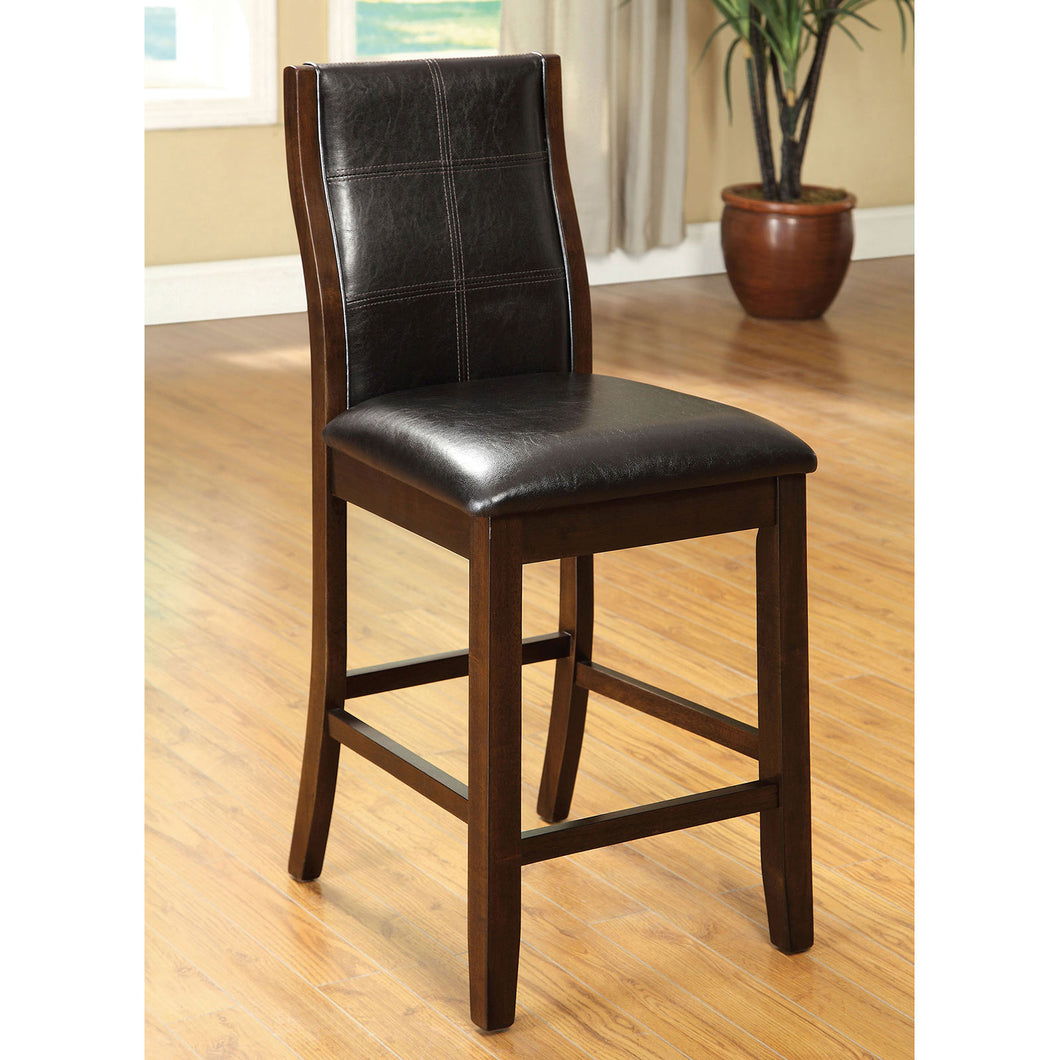 Townsend II Brown Cherry Counter Ht. Chair (2/CTN)