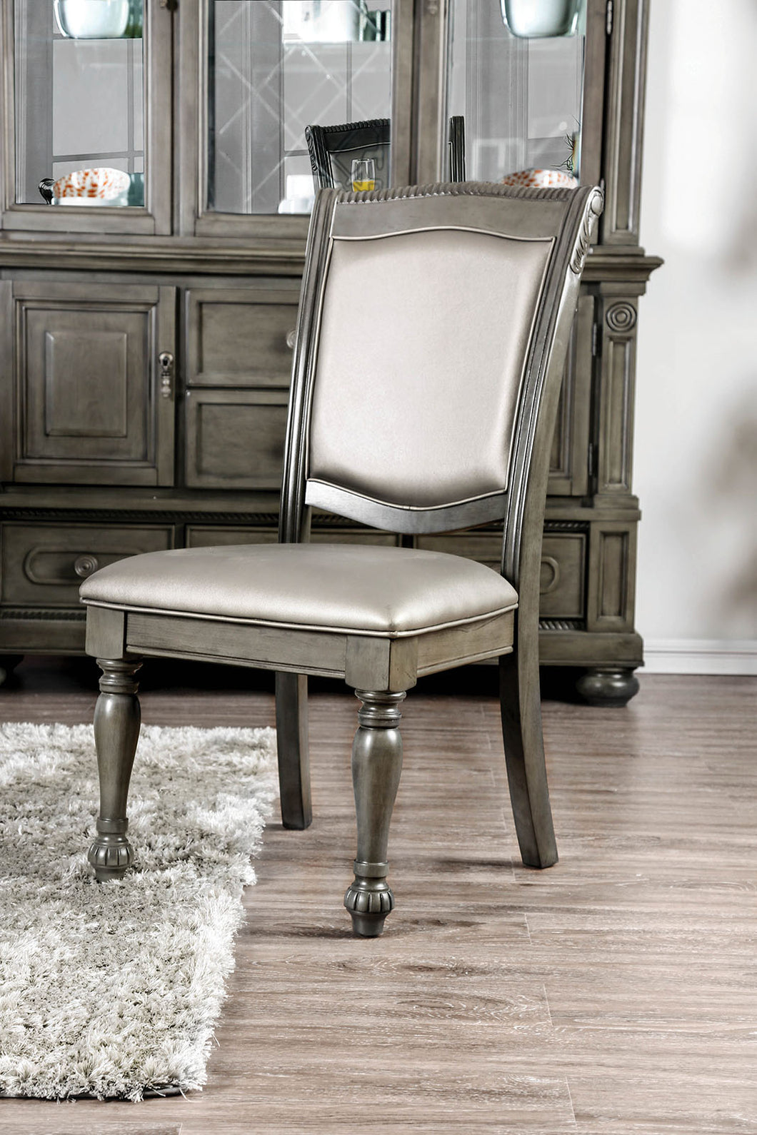 Alpena Gray Side Chair (2/CTN)