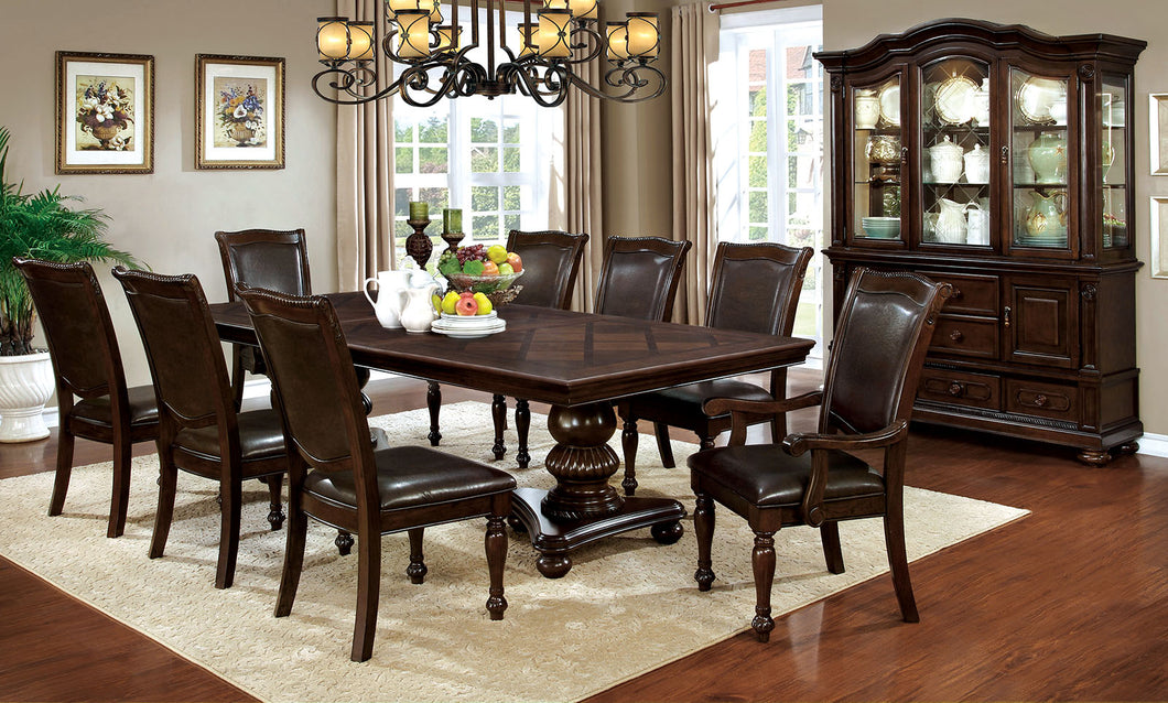 Alpena Brown Cherry Dining Table