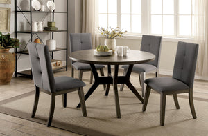 ABELONE Gray Round Table