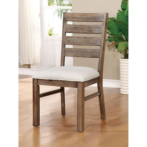 Lidgerwood Natural Tone/White Side Chair (2/CTN)