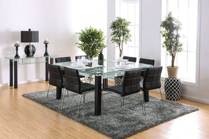 Batesland I Matte Black Dining Table