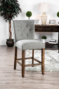 Schoten Gray/Antique Dark Oak Counter Ht. Chair (2/CTN)