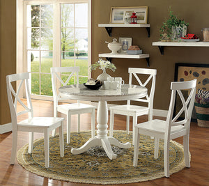 PENELOPE White Round Table