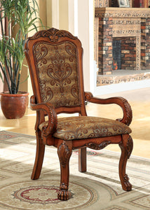 Medieve Antique Oak Arm Chair (2/CTN)