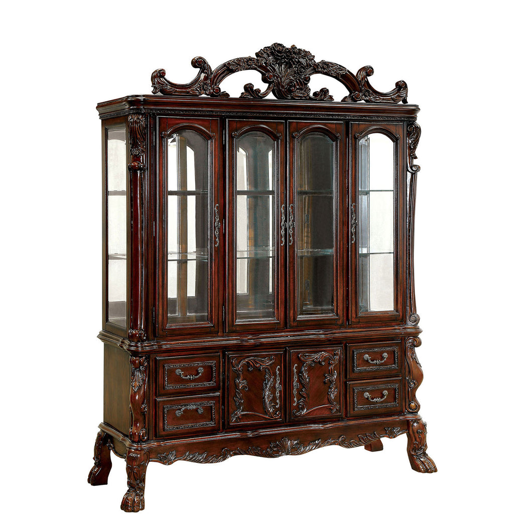 MEDIEVE Cherry Hutch & Buffet, Cherry