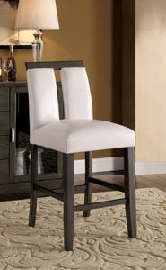 LUMINAR II Gray/White Counter Ht. Chair (2/CTN)