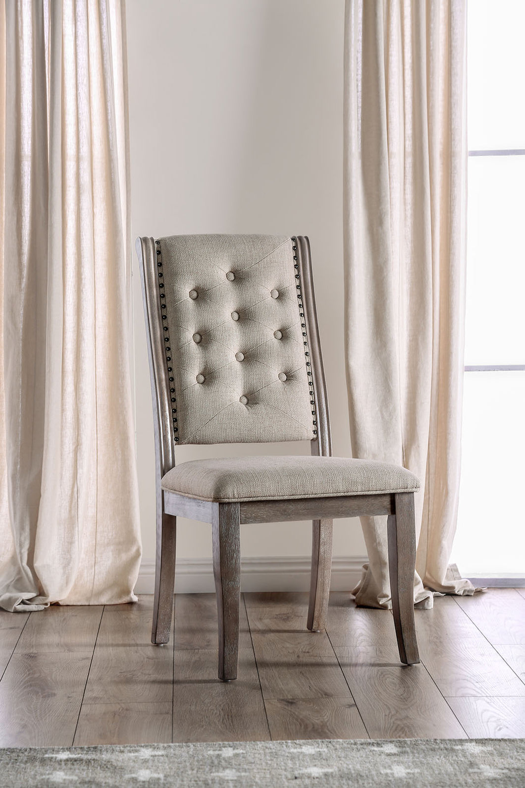 Patience Rustic Natural Tone Side Chair (2/CTN)