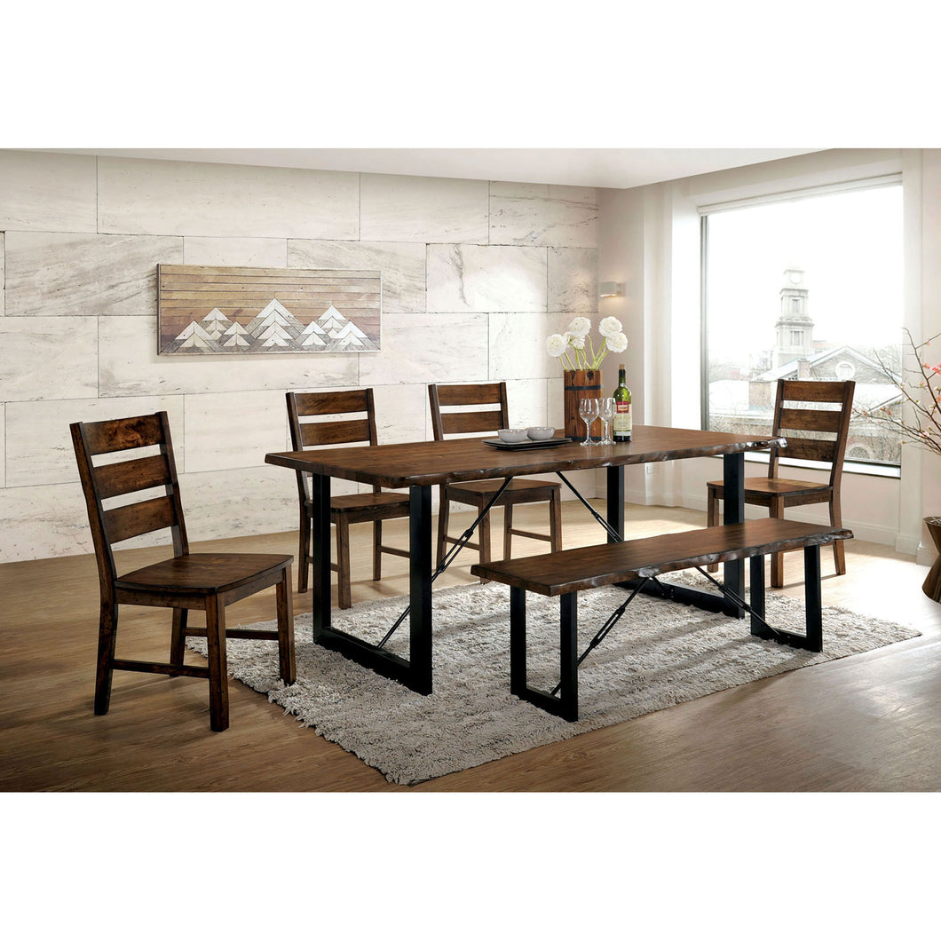 Dulce Walnut 7 Pc. Dining Table Set