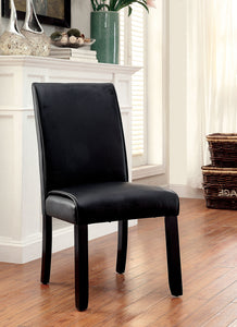 GRANDSTONE I Black Side Chair (2/CTN)