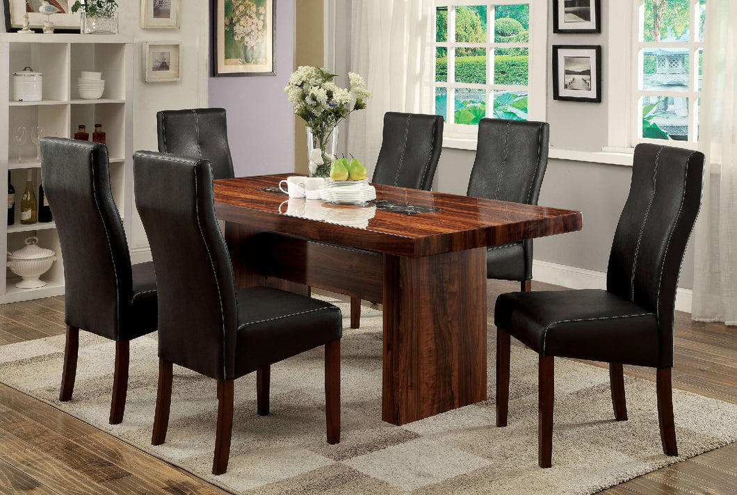 BONNEVILLE I Brown Cherry Dining Table
