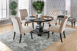 Nerissa Antique Black 5 Pc. Dining Table Set